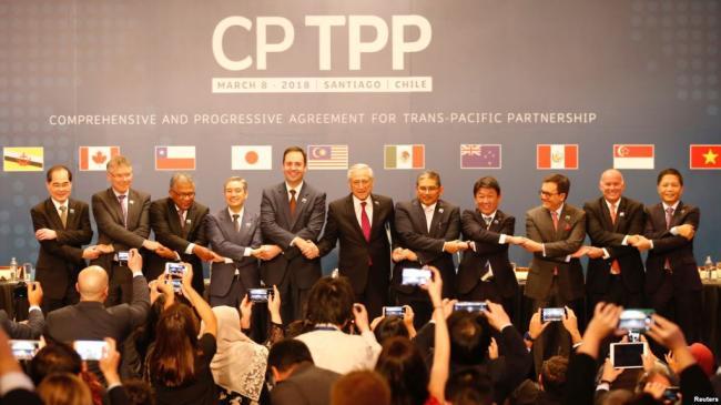 澳核准加入新版TPP 日宣布协定年底生效