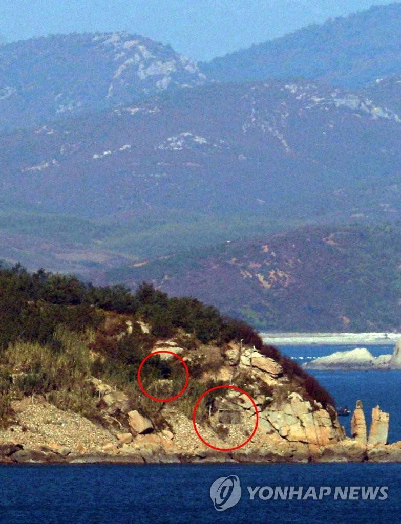 韩国对面的朝鲜火炮阵地 出现这样一幕