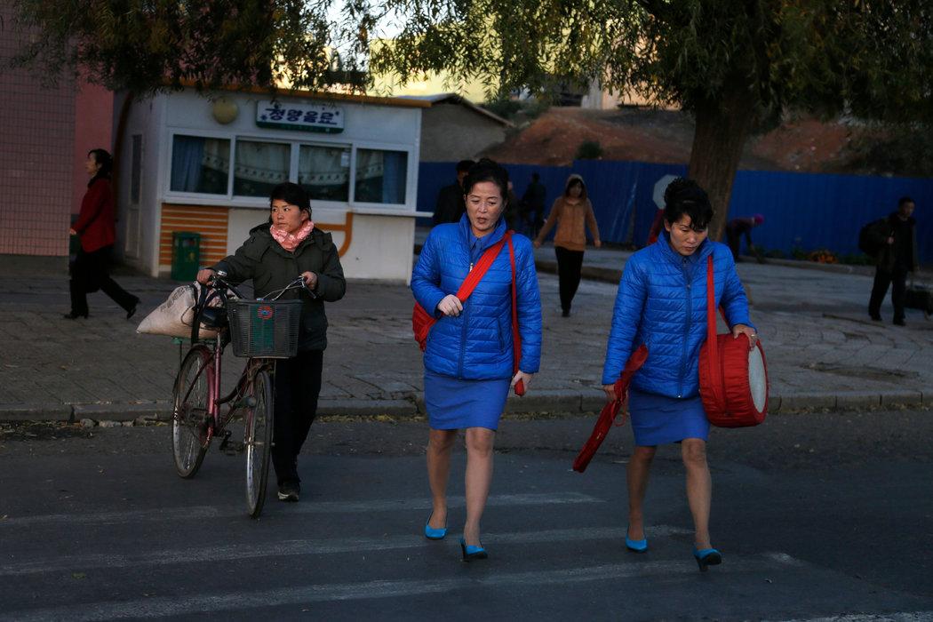 """""""他们把我们当玩物"""" 朝鲜女性的Metoo"""