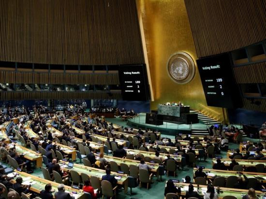 联合国通过决议 促美国终止对古巴禁运