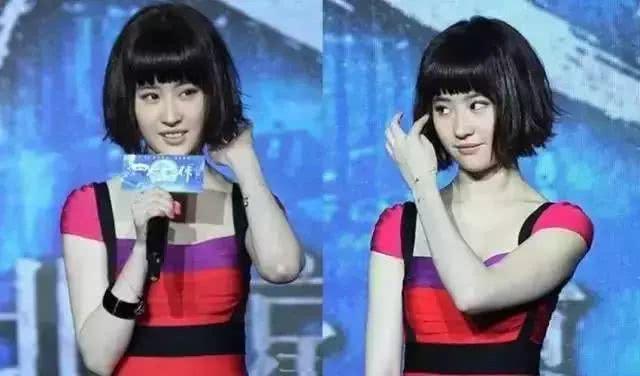 刘亦菲的颜值都不能驾驭的短发..