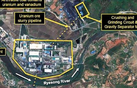 朝鲜最大铀矿山持续运营中