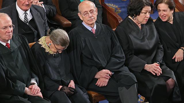 摔断三根肋骨大法官坐起来了 为这口气