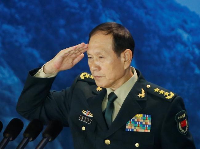 中国军方阉割防长涉台讲话