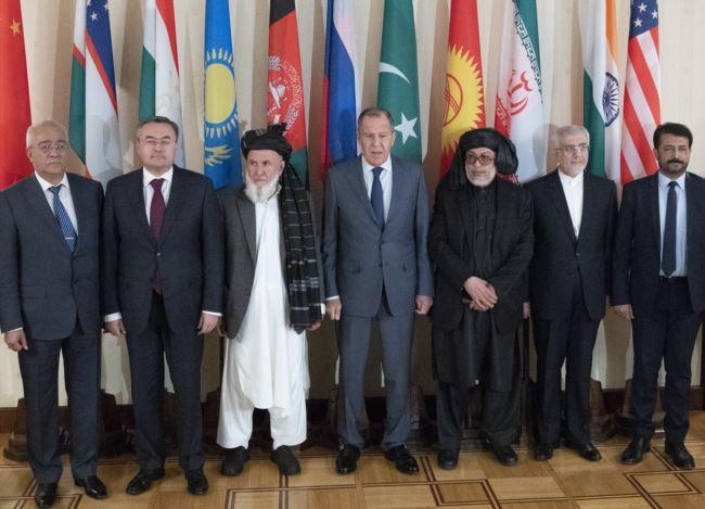 """俄:塔利班和美国举有十次""""秘密""""会议"""