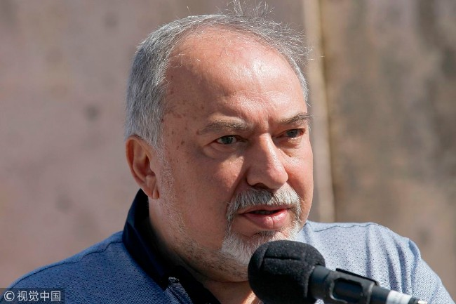 以色列国防部长辞职   不接受加沙停火
