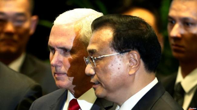 APEC峰会中美唇枪舌战中开幕