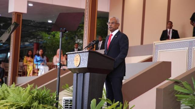 """马尔代夫新总统就职炮轰中国""""一带一路"""""""