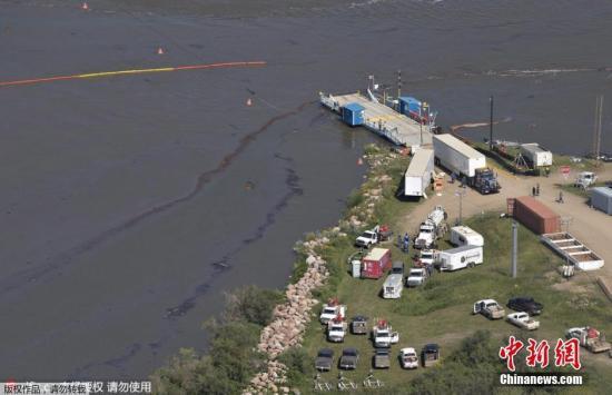 加拿大海岸石油泄漏规模创纪录