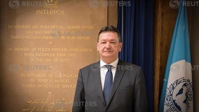 蓬佩奥支持韩候选人任国际刑警组织主席