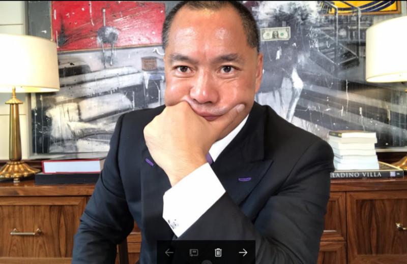 郭文贵开新闻发布会 大外宣也忙发稿