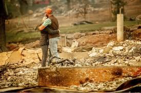 加州山火灾民又将面对暴雨来袭
