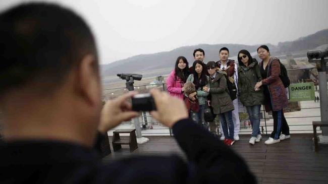萨德病健忘 今年抵韩中国游客达600万