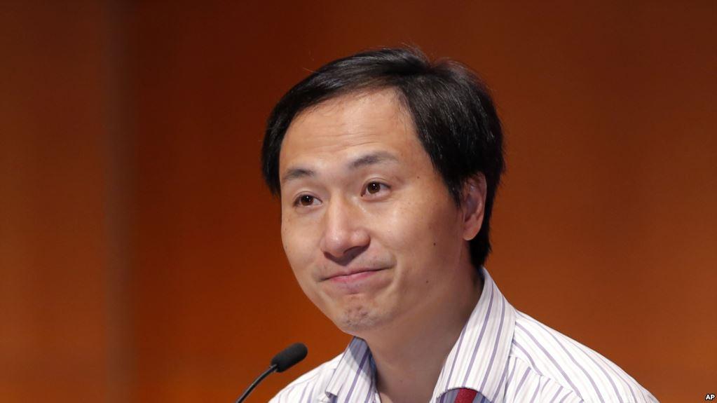 美卫生研究院痛批基因编辑 贺建奎不安