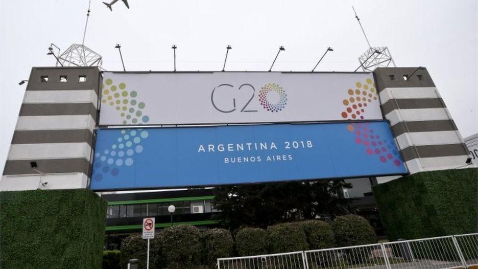 阿根廷布宜诺斯艾利斯,G20会场位于Costa Salguero展览中心。