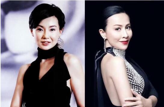 54岁张曼玉近照变化大 和刘嘉玲比不了