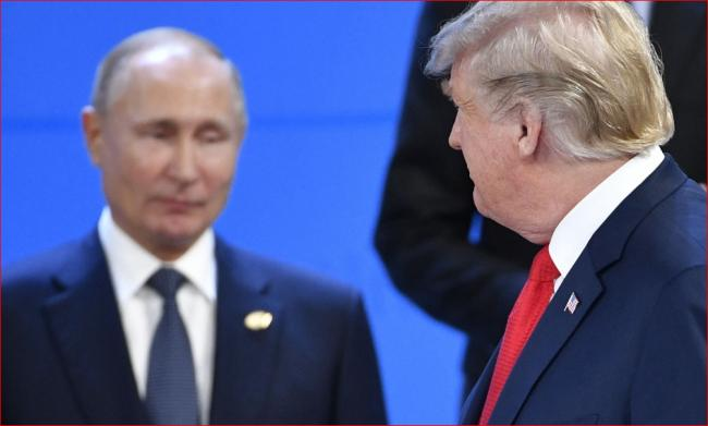 白宫证实双普在G20晚宴上进行交谈