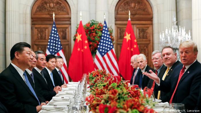 Argentinien G20 Gipfel - US-Präsident Donald Trump und Chinesischer Präsident Xi Jinping (Reuters/K. Lamarque)