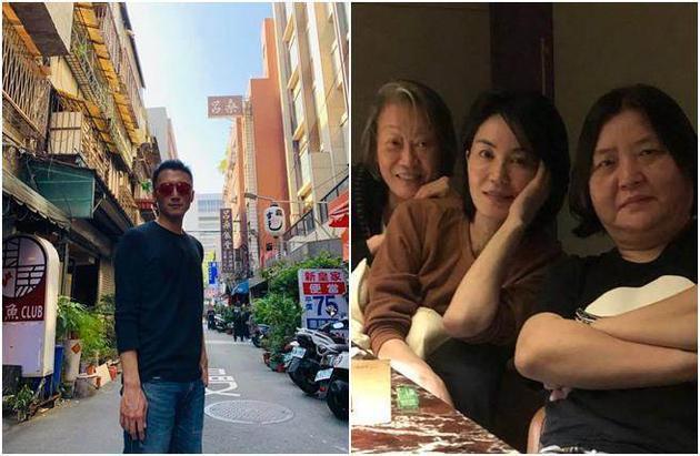 王菲现身台湾见好友 谢霆锋也在台湾
