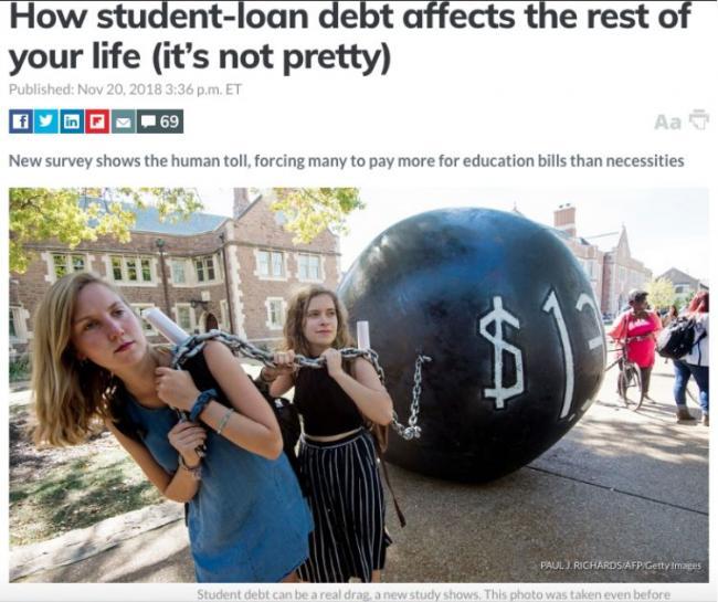 奥巴马21年才还清的贷款正危害美年轻人