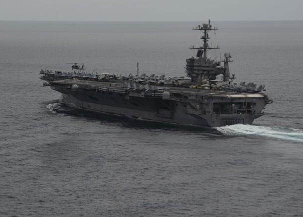 美吁欧盟制裁伊朗 航母将入波斯湾