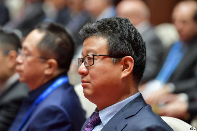 中国互联网公司网易首席执行官丁磊(William Ding)2018年11月7日出席在中国浙江省乌镇举行的第五届世界互联网大会开幕式。