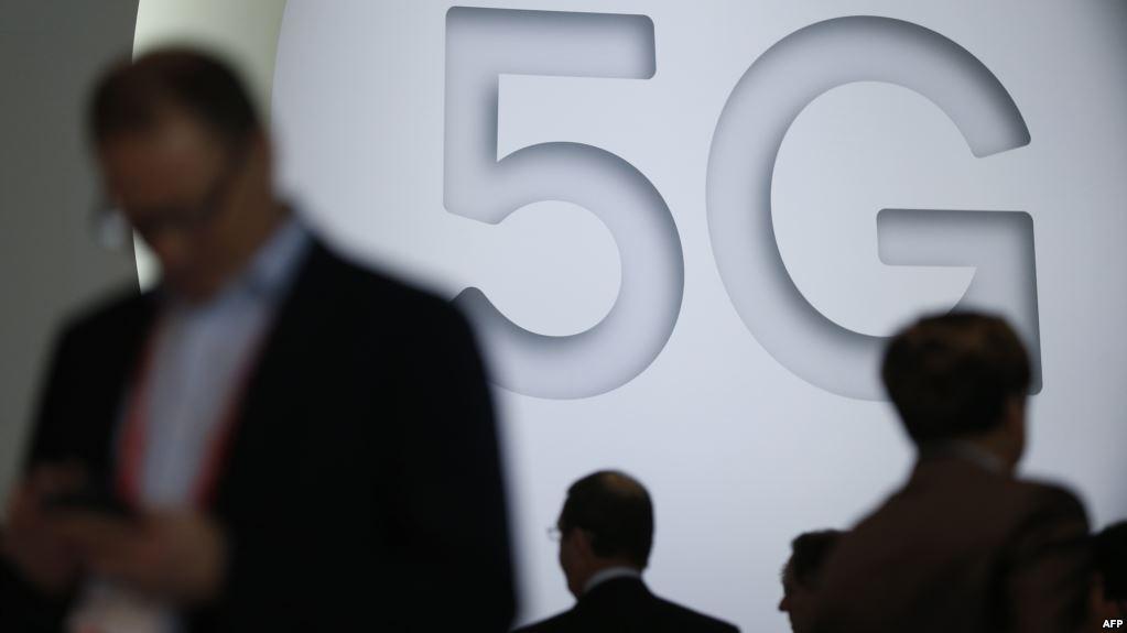 2018年2月26日巴塞罗那世界移动展览会5G展位
