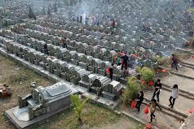 中国死不起 买墓地价格像买房