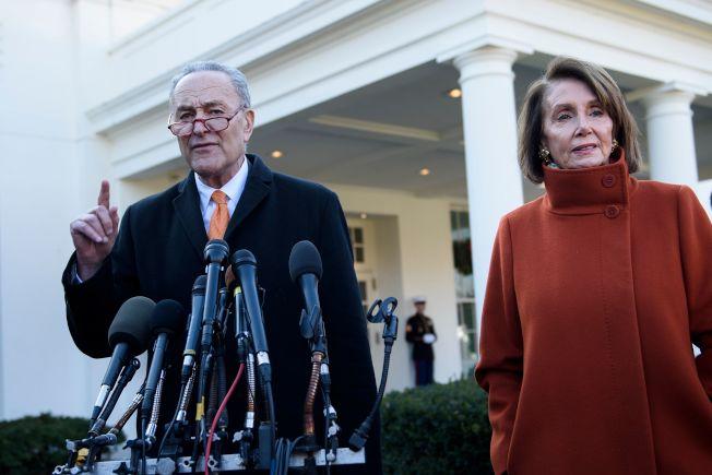 一场白宫争辩 看见未来两年分裂的美国