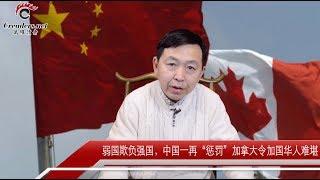 """中国一再""""惩罚""""加拿大令加国华人难堪(视评)"""