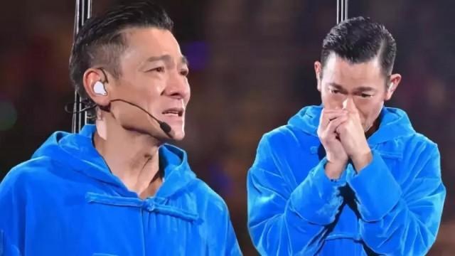 刘德华昨晚的眼泪   像是一个时代的谢幕