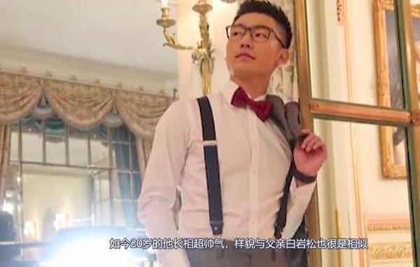 白岩松20岁儿子近照曝光 也在国外留学