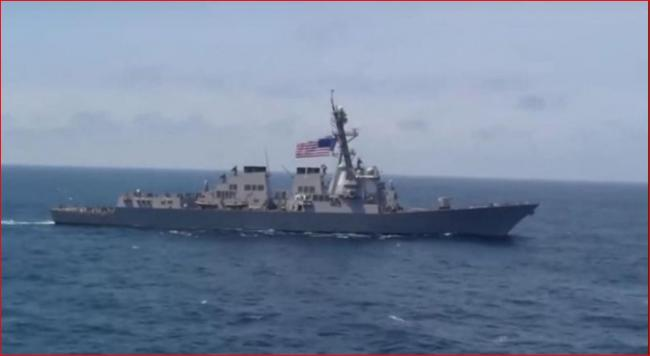 美舰驶入南海 过度刺激将引起北京反弹