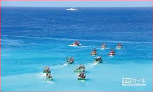 中国大量民兵组织南海出现 菲律宾回应