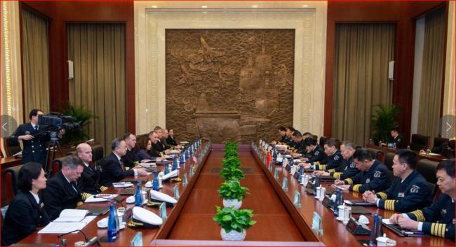 中美军方互不相让 但认同管控冲突风险