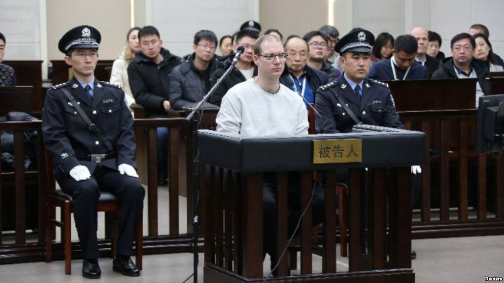 加籍公民被中国判死刑 美国终于表态了