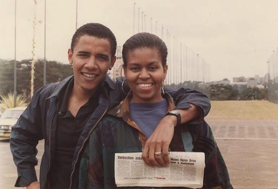 米歇尔生日 奥巴马大秀恩爱深情告白