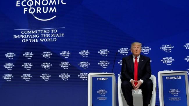 达沃斯经济论坛:白宫高级代表团被取消