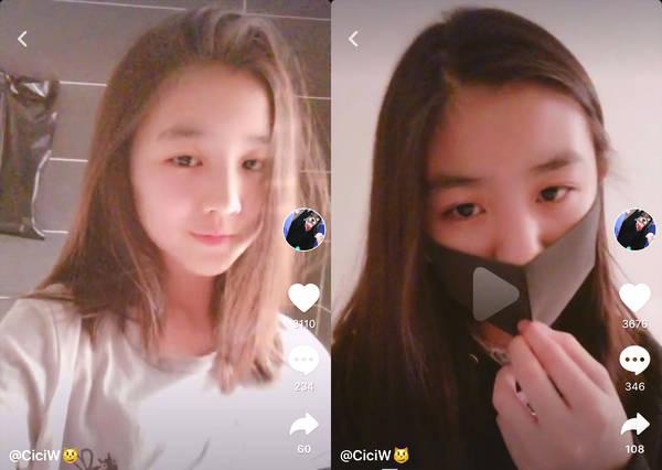 章子怡晒两个女儿照片 网友:差别太大