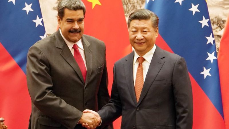 马杜罗访华期间与习近平举行会谈,两国政府又签署推进