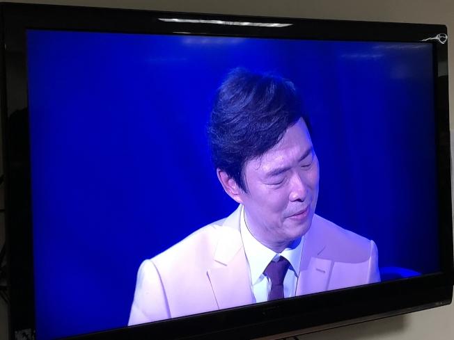 费玉清在台上泪崩。记者林士杰/摄影