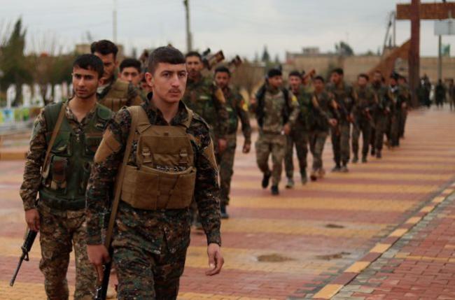 叙利亚民主力量部队展开歼灭IS最后一击