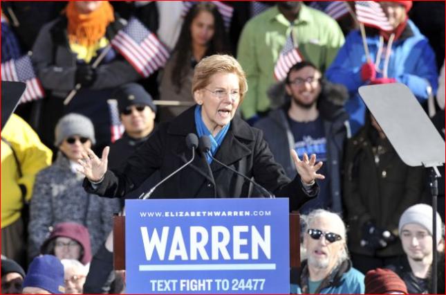 民主党重量级女参议员宣布参选2020