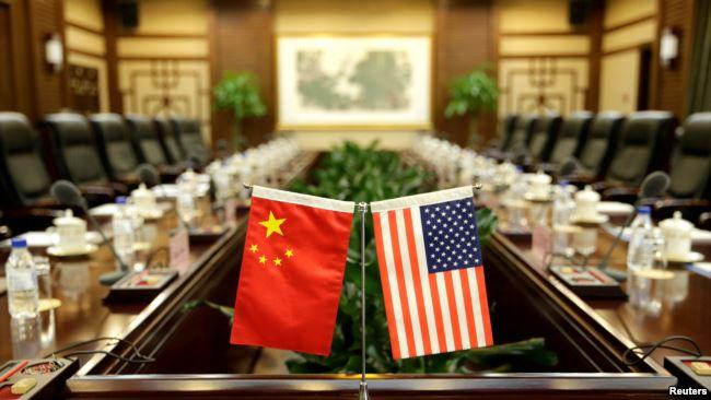 美中两国2017年6月30日在中国农业部开会前的会议室。