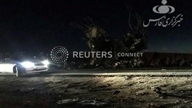伊朗精锐革命卫队遭自杀式炸弹袭击
