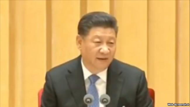习近平:决不走宪政、三权鼎立的一套
