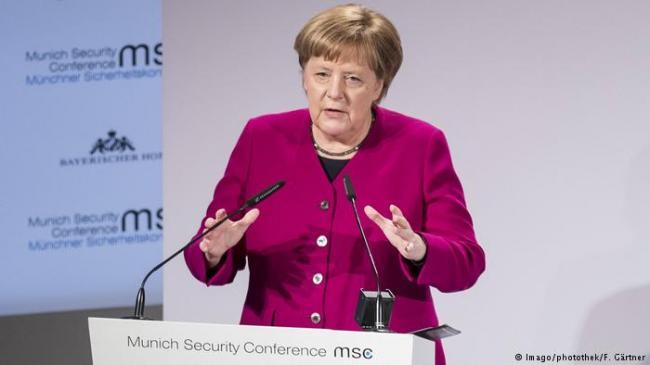 默克尔吁中国加入裁军协议 北京不同意