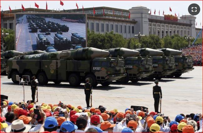 中国拒绝默克尔呼吁  不会加入中导条约