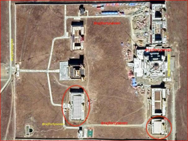 """中共西藏在建""""再教育营""""  卫星照曝光"""