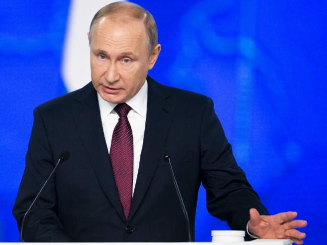 普京:美在欧洲部署飞弹 俄直接瞄准美国